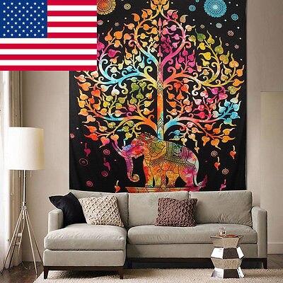 150x130 cm gypsy tapestry opknoping hippie interieur slaapkamer elegante boom wandtapijt bohemian sprei