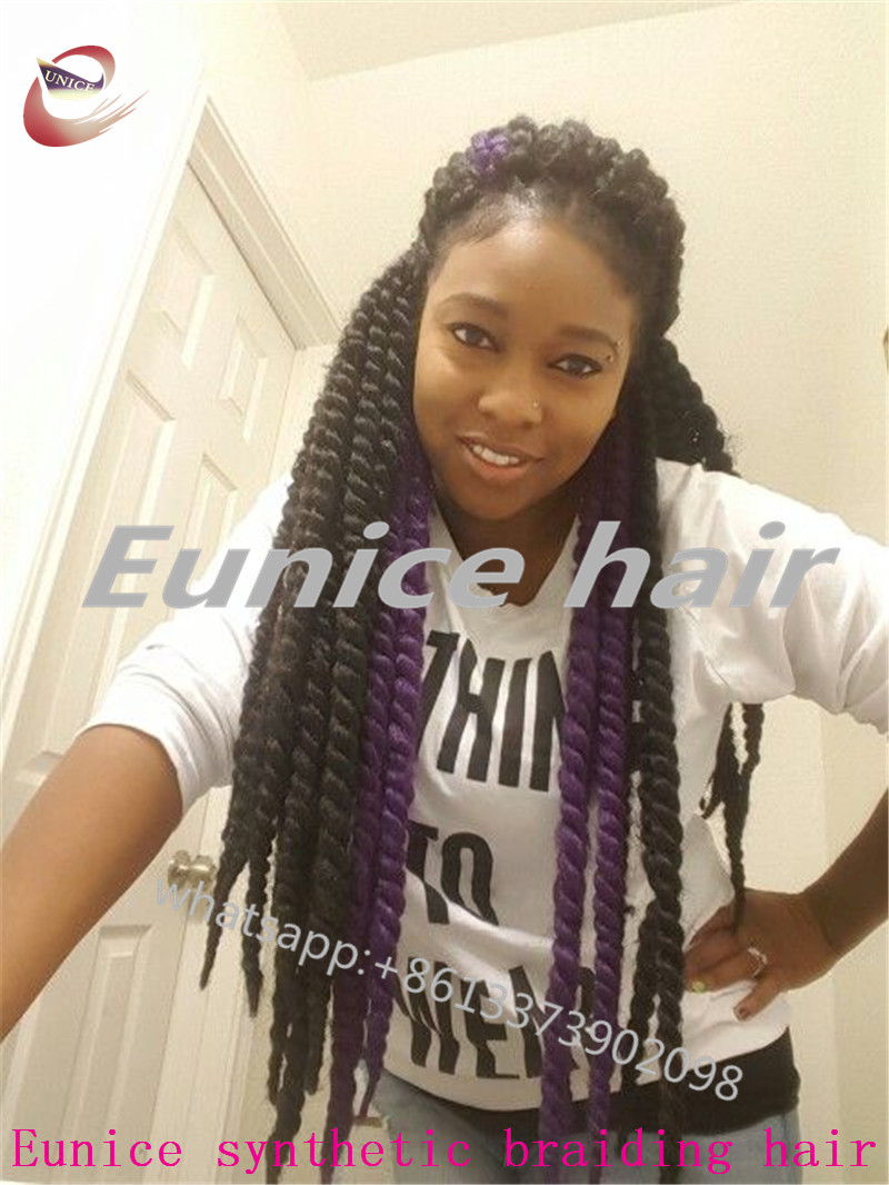 Crochet Black Braiding Curly HairHavana Mambo Twist African