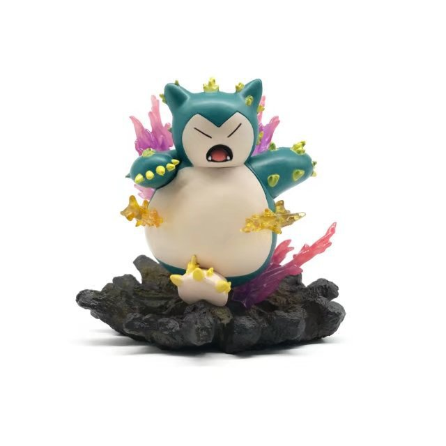 NEW hot 17cm Pikachu go Snorlax Action figure toys doll collection Christmas gift цена