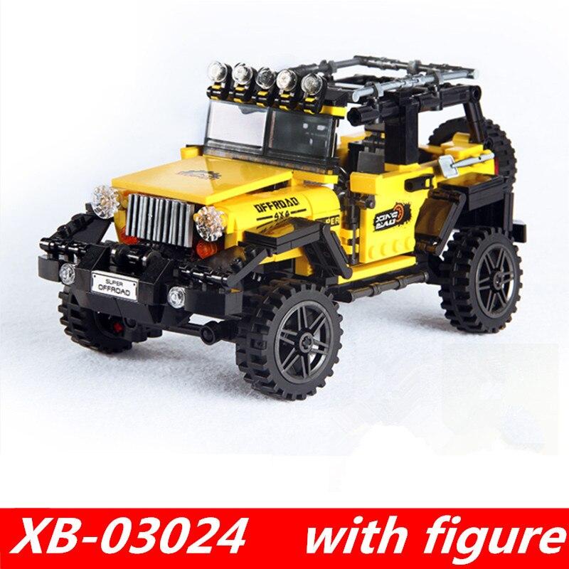 купить xingbao 03024 xingbao technic lepin technic legoing Car Series The Offroad Adventure Set Building Blocks Toys for child Gift по цене 1489.15 рублей