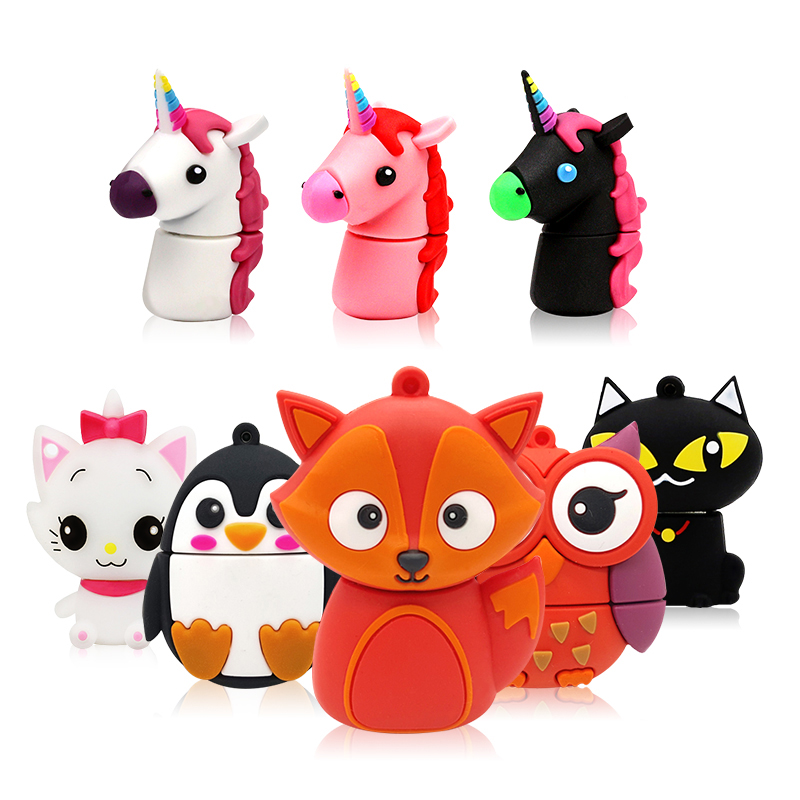 USB2.0 128GB flash unicorn cartoon pendrive usb flash drive external drive flash disk 16 gb 32 gb 64 gb flash memory pen driveUSB2.0 128GB flash unicorn cartoon pendrive usb flash drive external drive flash disk 16 gb 32 gb 64 gb flash memory pen drive