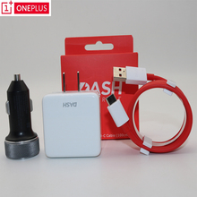Original ONEPLUS 6 Dash Car charger 5T 5 3T 3 One plus Smartphone EU Power Supply Unit Usb Adapter Fast charge Type C Dash Cable