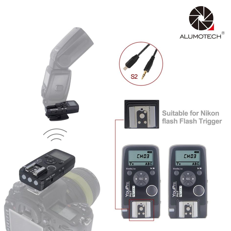 2.4G Wireless Shutter Timer Remote+ Flash Trigger S2 Shutter Cable for Sony a7 a7R a7S a7II a7SII a6500 a6300 a6000 a58 etc стоимость