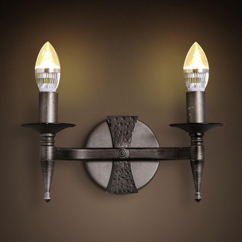 Decorative Creative E14 candle bulb Wall Lamp