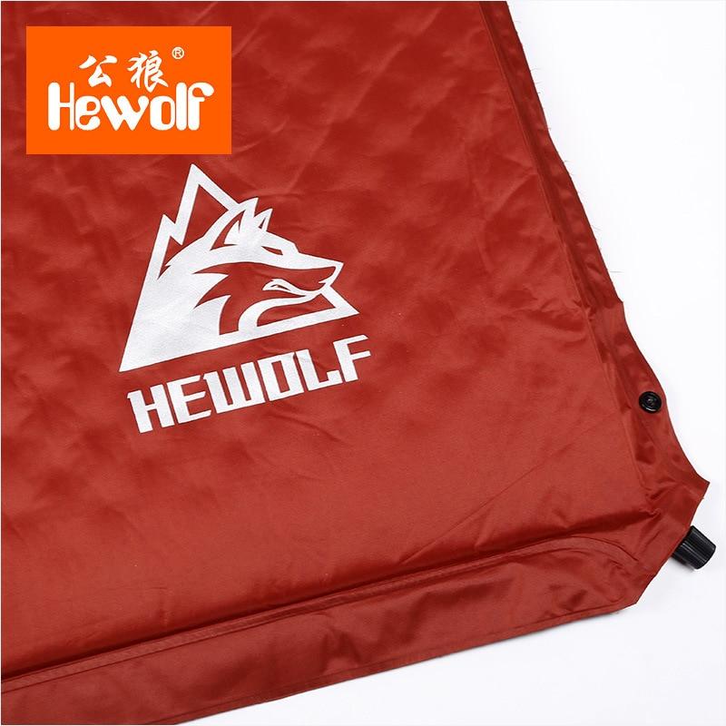HEWOLF extérieur épais 5 cm coussin gonflable automatique pad tente extérieure camping tapis double lit gonflable matelas 2 couleurs - 3