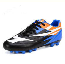 Free Shipping  Promotion  High Quality  Children Soccer Shoes EUR size 35-40