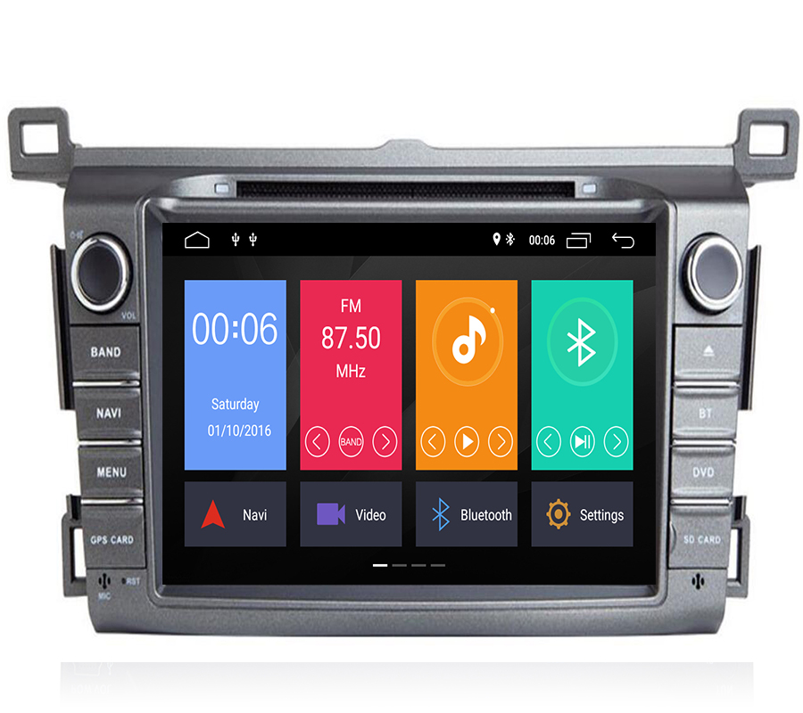 DSP IPS 2 Din Android 9.1 car multimedia dvd player for <font><b>Toyota</b></font> <font><b>RAV4</b></font> <font><b>Rav</b></font> <font><b>4</b></font> 2013 <font><b>2014</b></font> <font><b>2015</b></font> <font><b>2016</b></font> <font><b>2017</b></font> 2018 gps navigation radio image