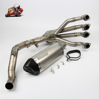 Motorcycle Full Exhaust System Slip on For Kawasaki Z900 2017 Exhaust Muffler Pipe