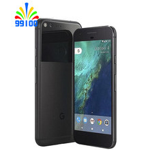 Unlocked Original Cell phone Google Pixel X/XL 5.0/5.5 inch screen 4G LTE 4GB RAM 32GB/128GB ROM(Charger may scratches)(China)