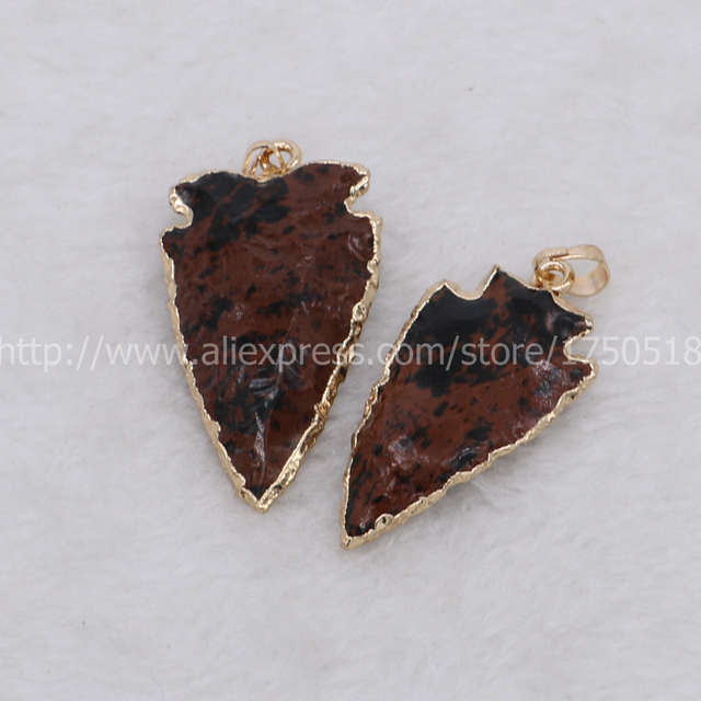Wholesale arrow stone pendant mix color druzy pendant beads gold wholesale arrow stone pendant mix color druzy pendant beads gold color plated charms fashion jewelry finding mozeypictures Gallery