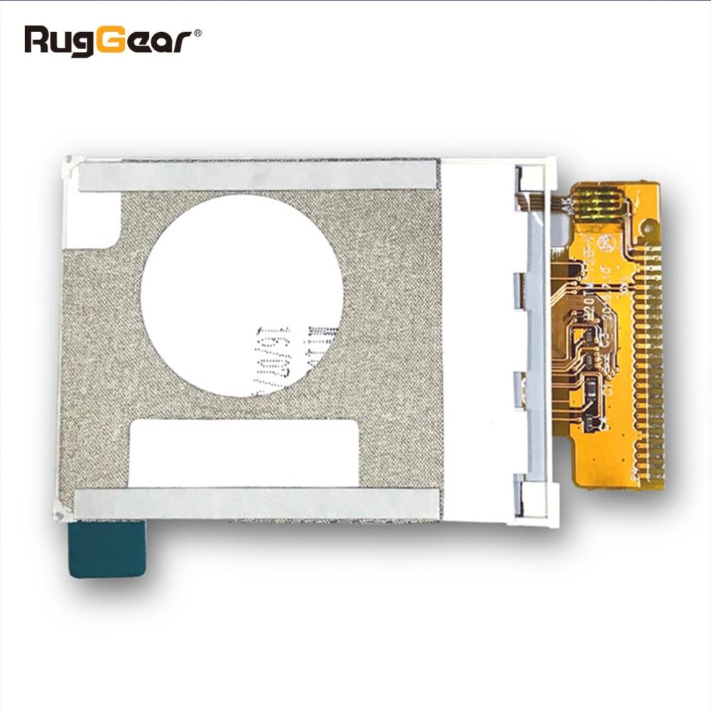 Display of the RugGear RG100- waterproof phone----screen glass