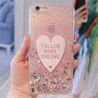 For Huawei Y5 II honor 4A Y6 Mate 9 9 Pro phone case Glitter Liquid Ice cream Bling silicone TPU Soft Protective cover