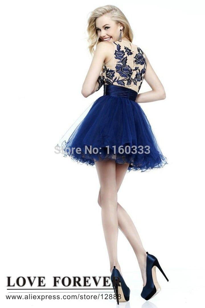 Aliexpress.com : Buy Plus Size Black Cocktail Dress Dresses Short ...