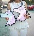 Celebrity Style Pop Unicorn Horse Pony Handbag Clutch Evening Shoulder Bag Purse