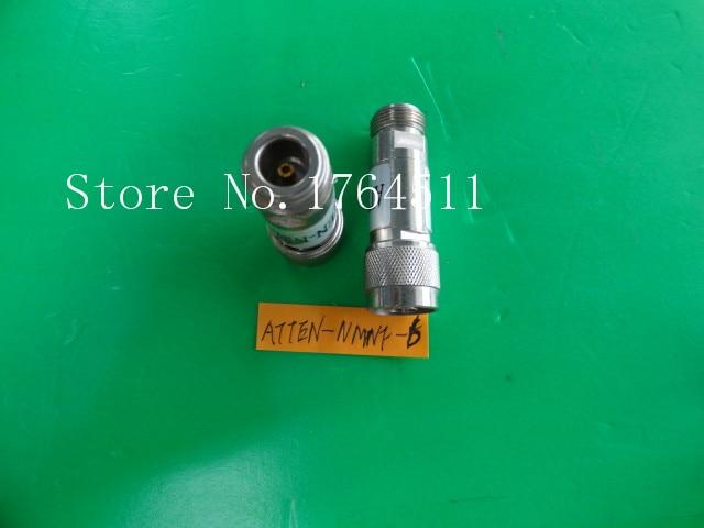 [BELLA] ATTEN-NMNF-6 DC-8GHz 6dB 2W N Coaxial Fixed Attenuator  --2PCS/LOT
