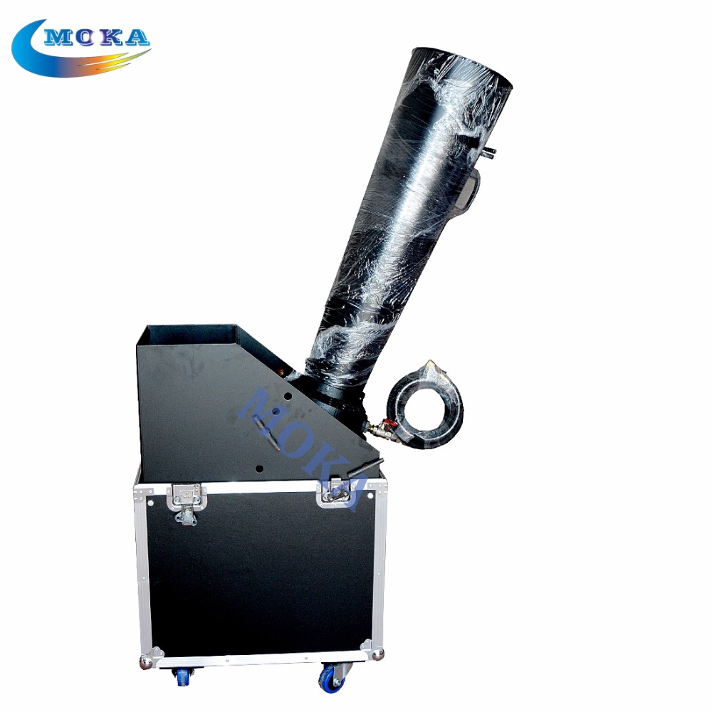 CO2 Big Confetti Blaster Hand Control CO2 Gas Cannon dmx Professional Confetti Launcher confetti machine tiptop tp t08 big led co2 launcher food class co2 gas led colorful rgb changing anti false triggering insurance 8pcs aa battery