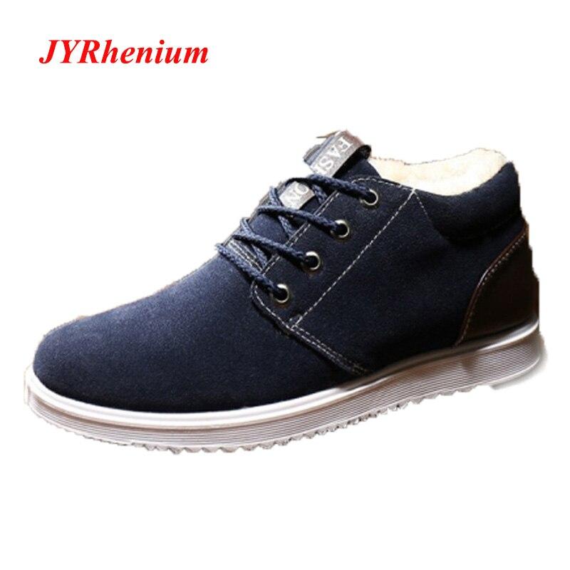 Comprar Big Venda 2018 Novos Homens de Inverno Tênis De Camurça Homens  Running Shoes Calçados Esportivos Masculinos Luz Masculino Sapato Zapatos  Hombre ... 58e3b4a2cb7d2