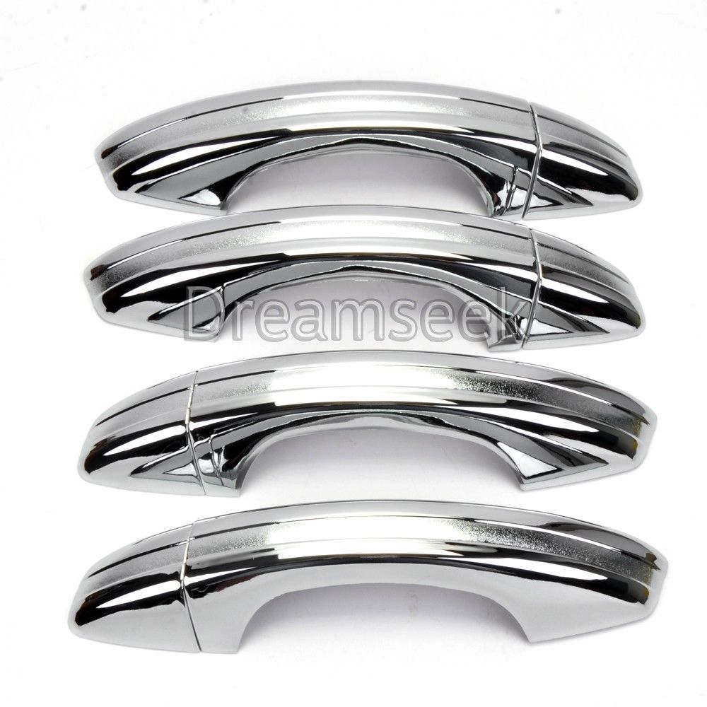 Accessories Chrome Side Door Handle Covers Trims For VW Rabbit Caddy Pickup MK1
