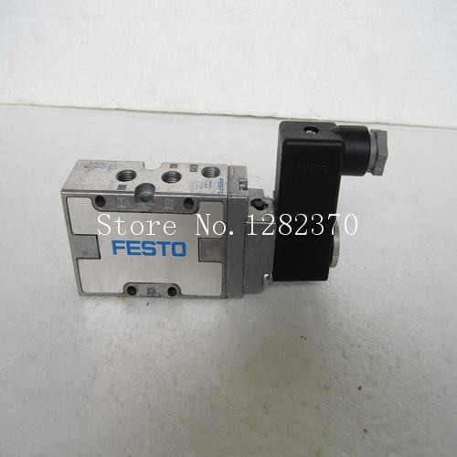 [SA] New original authentic special sales FESTO solenoid valve MFH-5-1 / 8-B containing coil spot --2PCS/LOT brand new authentic festo throttle valve gro m5 b 151214