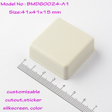 35  pcs free shipping41x41x15 mm  consumer electronics instruments case power distribution enclosures  small plastic boxes
