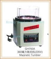 Magnetic Tumbler Jewelry Polisher Super Finishing Machine 220V Surface Rotary Polishing Tumbler