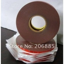 3M 4229P Auto double sided adhesive foam acrylic tape 20mm*33M*0.8mm thickness/grey color Pressure sensitive adhesive tape 5pcs