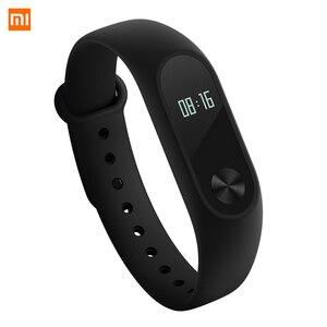 Image 2 - Xiaomi Mi Band 2 Smart Wristband Fitness Bracelet Xiomi Miband 2 Heart Rate Monitor Xaomi Activity Tracker Xaiomi Smart Band2