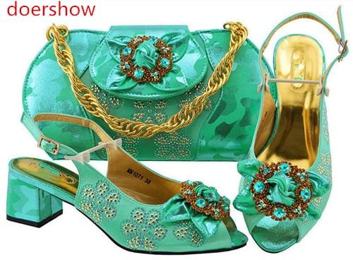 rose Chaussures Assorti Green Or Italie Doershow Bf1 Haute Italiennes Mode Qualité Royal Couleur pourpre Mariage Avec Ensemble Bleu water Pour Le Partie bleu Sac 38 Marine rose Et bleu qtrt0FHx4w