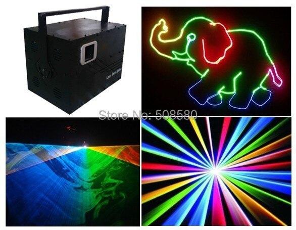 Кейс + полный Цвет Disco 5 W RGB сценический лазерный светильник оборудование для дискотек ди джей в ночном клубе вечерние бар развлечение show луч