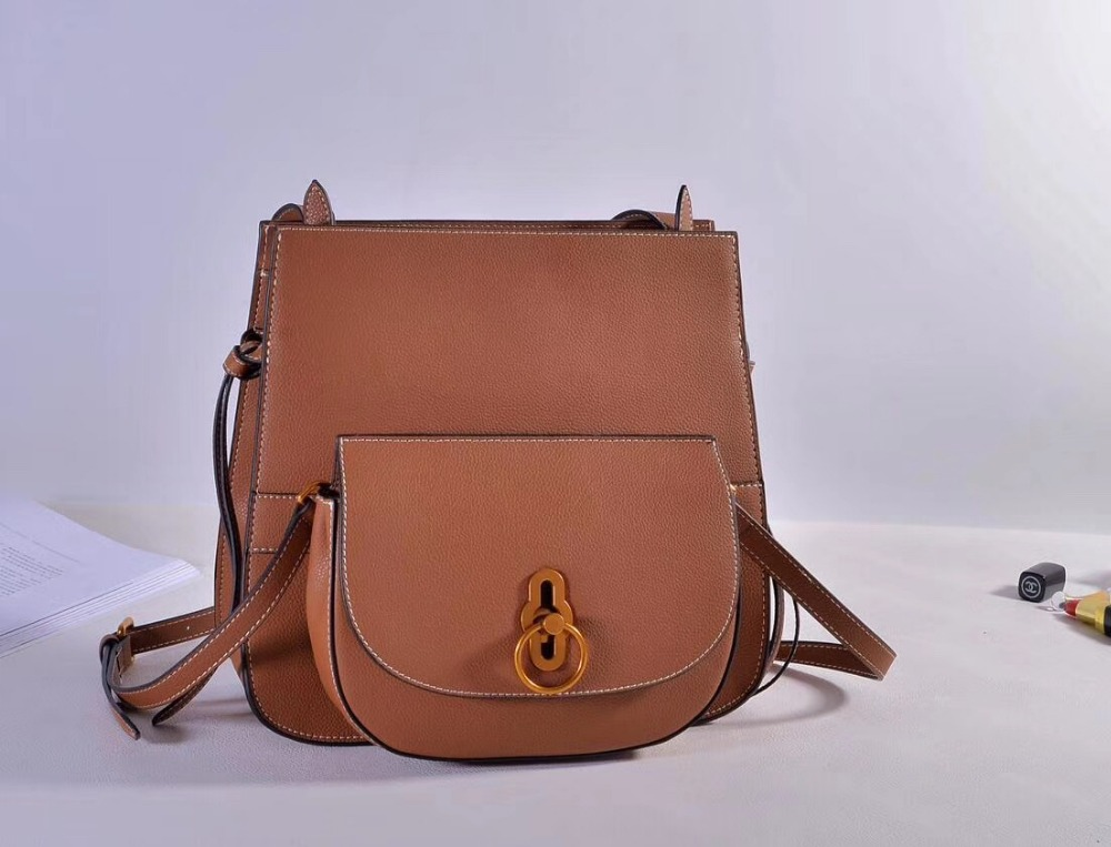 Kafunila 2017 Fashion Cowhide Shoulder Bag Genuine Leather Cross Body saddle Bag Euro Style Women Composite Messenger Bag bolsa цена
