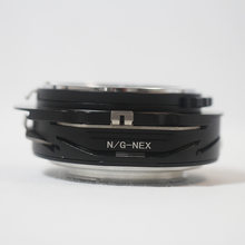 Tilt & Shift For Nikon F AF-S G Lens To Sony NEX E Mount T&S Adapter 6 7 A5000(China)