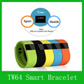 2015 TW64 Smart Bracelet Fitness Bracelet Bluetooth 4.0 Waterproof IPX6 Fitness Tracker Sleep Monitor Pedometer Smart Wirstband
