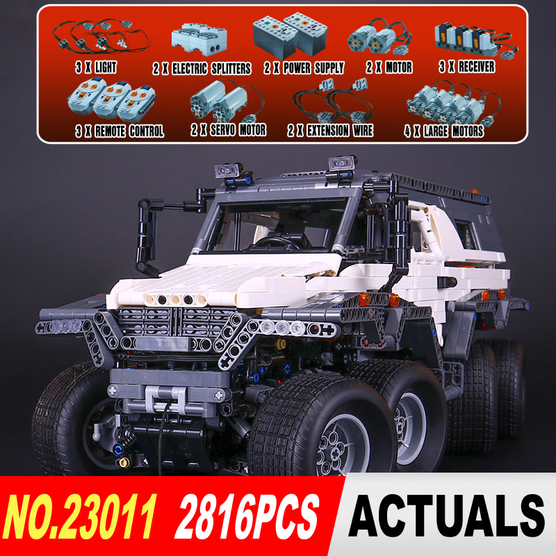 NEW LEPIN 23011 Technic series 2816Pcs Off-road vehicle Model Building Blocks Bricks kits Compatible 5360 to children gifts 2816 pcs lepin 23011 technic series off road vehicle model moc assembling building kits block bricks compatible 5360 toy