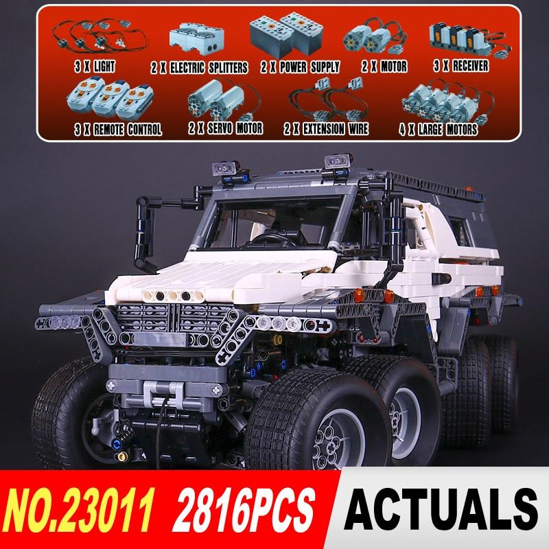 NUOVO LEPIN 23011 serie Technic 2816 pz Off-road Modello di veicolo di Costruzione di Blocchi di Mattoni kit Compatibile 5360 per i bambini regali