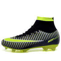 2019New Brand FG football soccer shoes men XI Boots TF High Ankle indoor soccer cleats Turf superfly futbol Sport Shoes Sneakers