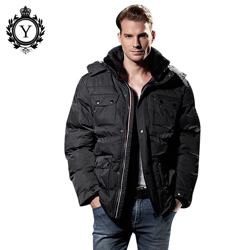 COUTUDI Men Casual Winter Jackets Solid Black Male Parka Coats 2017 Fashion New Pockets Men Outwear Warm Clothing Plus Size 2688