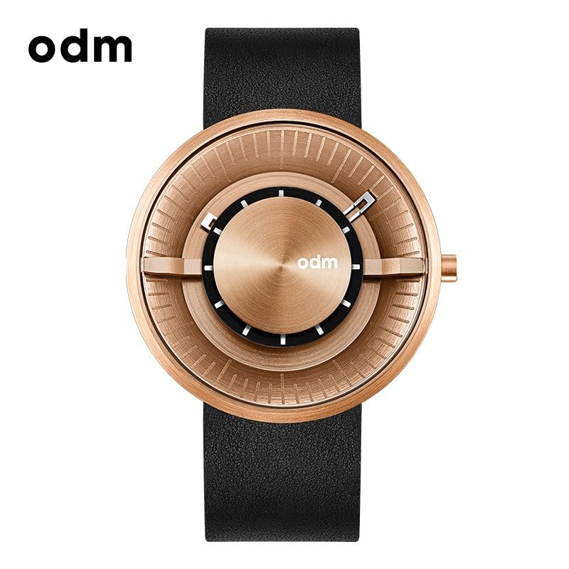 odm Men And Women Couple Table Quartz Watch Fashion Simple Creative Waterproof Student Concept Wristwatch - DD173