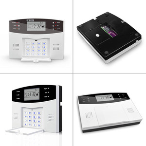 Image 5 - Comfortable Keyboard M2B Wireless GSM alarm system, LCD Screen, For Home Burglar Alarm System, Sensor Detector Alarm