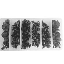 100pcs Nylon Bodywork Rivets Push Pry Pins Kit For Polaris Sportsman 450 500 550 570 600 700 800 850 1000