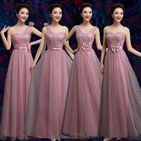 Elegancki długi maxi wieczorne party suknie dla kobiet szczupła łuk pas jedno ramię siatki koronki kobiet suknia szata des femmes longues