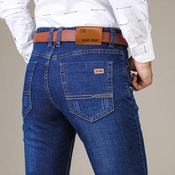 Men'S Classic Jeans Jean Homme Pan...