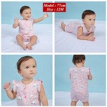 2019 orangemom verano bebé niña ropa-piezas Monos Bebé Ropa corta de algodón mameluco infantil ropa de chica roupas menina