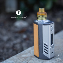 AUTHENTIC Lost Vape Triade Triple 18650 DNA200 DNA 200 200W TC Leather Box Mod Electronic Cigarette Mod 200w