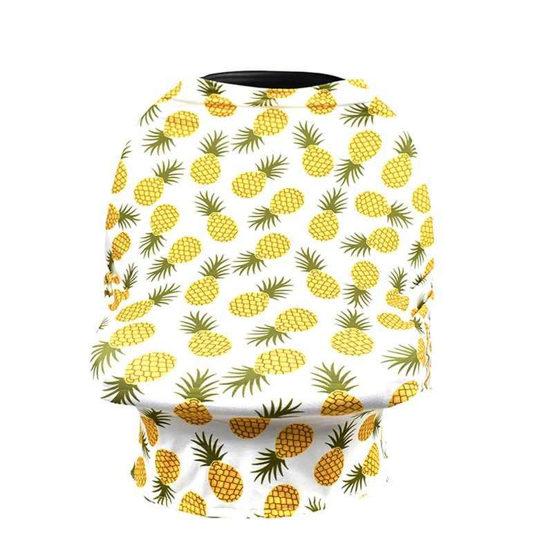 Младенческая новорожденная Крышка для кормления ребенка для кормления грудью шарф животное цветок Печатный мульти-использование балдахин на автолюльку крышка детский подарок