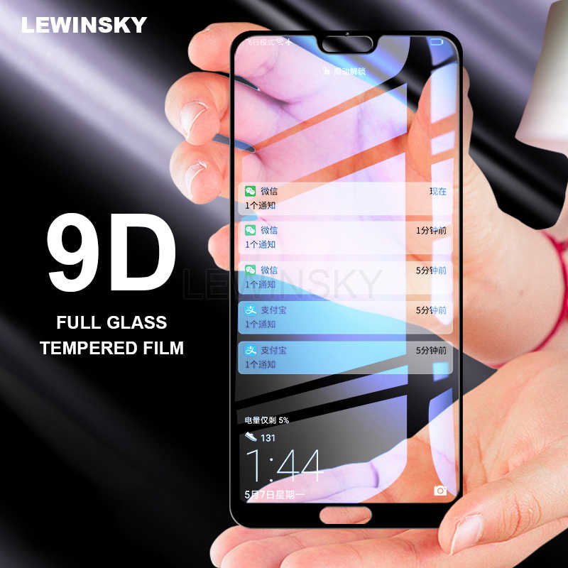 9D Tempered Glass For huawei Nova 3 3i P SMART P20 Pro P30 P10 Mate 20 lite honor 8X 8A 9 10 lite Screen Protector Full Coverage