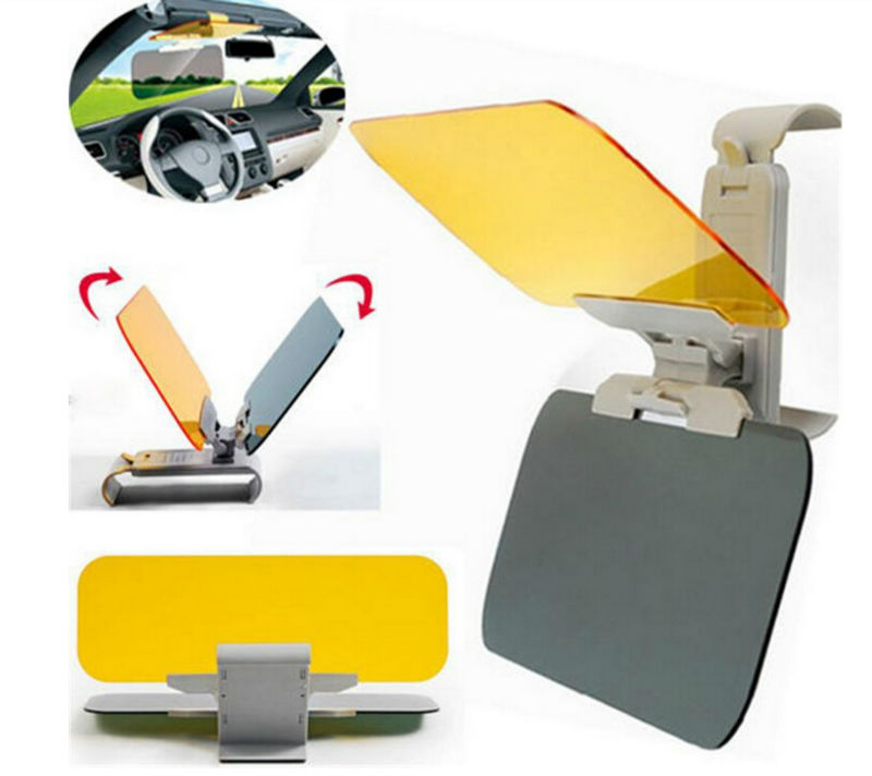 WISE TRAVEL Car Day And Night Vision Driving Mirror Sun Visors Protect your eyes