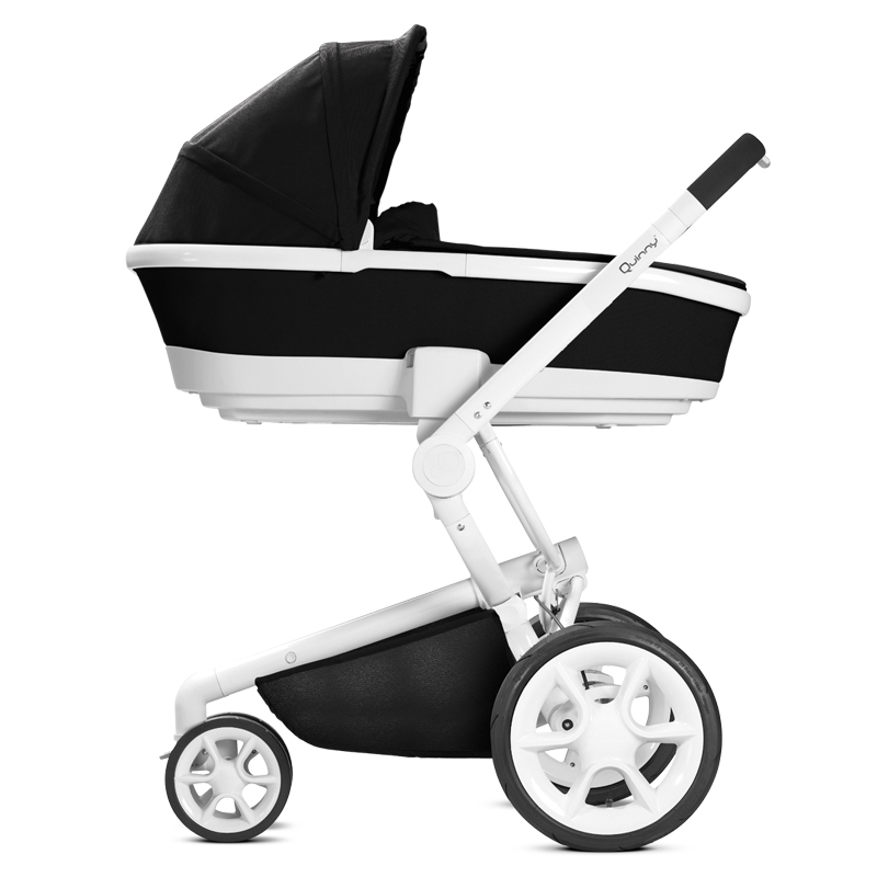 Quinny Moodd Xtra Genuine Cart 2 In 1 High Landscape Baby Stroller Sleeping Basket Set Can Sit and Lie  Can Be Two-way trolley прогулочные коляски quinny yezz