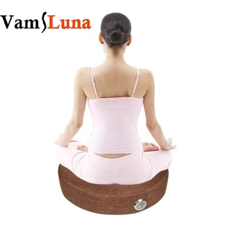VamsLuna Moxibustion Therapy Cushion With Moxa Burner Box With Burning Moxa Stick For Yoga, Body Relax Acupuncture Soft Heat