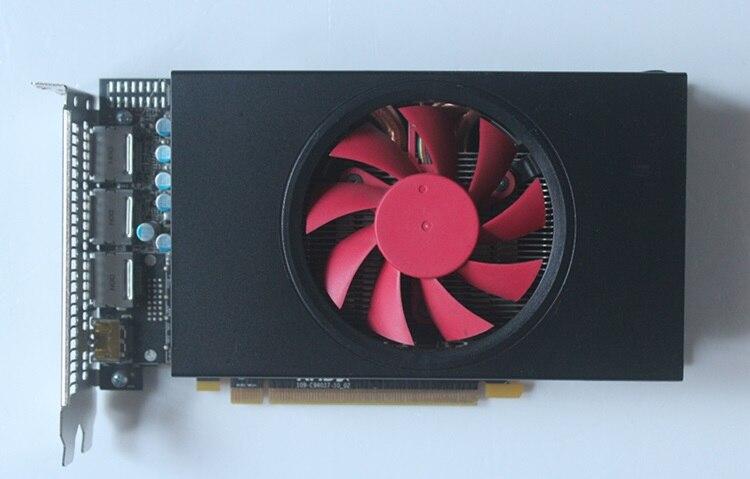 Usado SAPPHIRE Radeon RX 580 GDDR5 4G 256bit placa de vídeo placas gráficas PCI Express 3.0 ITX desktop gaming