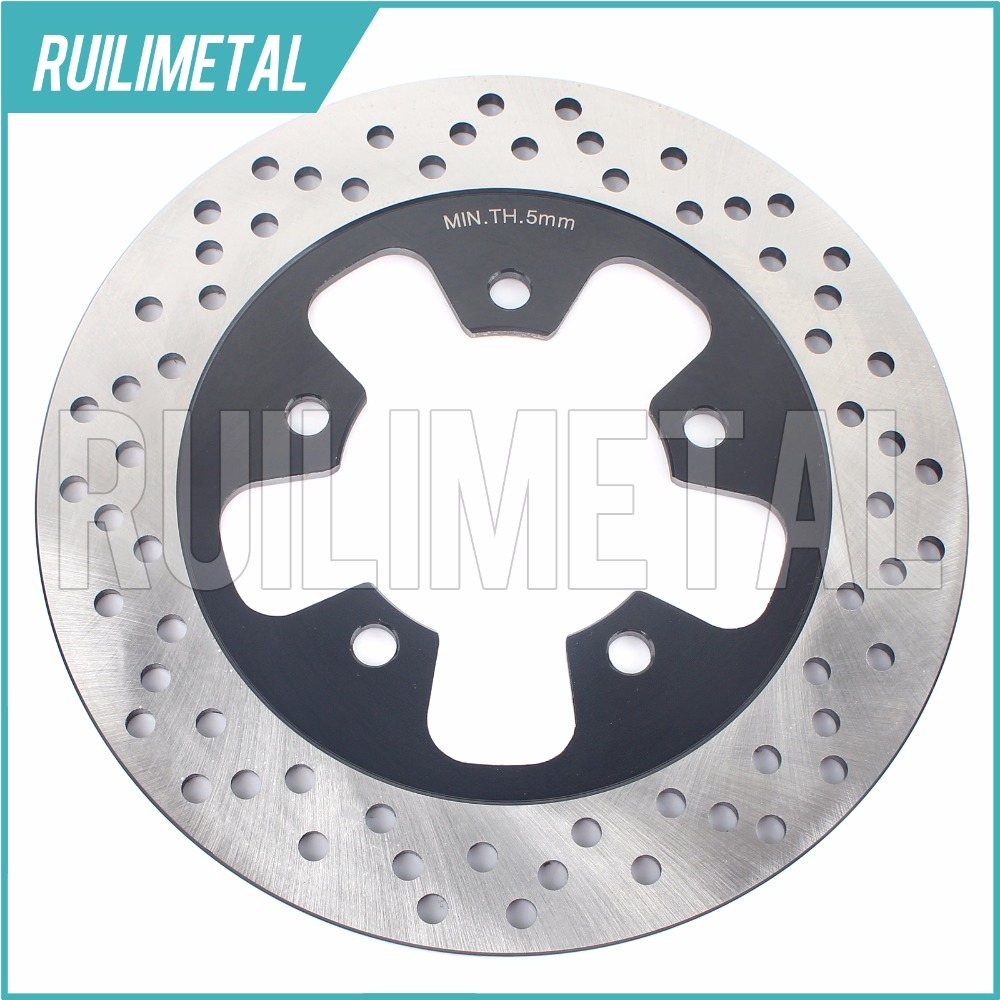 230MM Rear Brake Disc Rotor for KAWASAKI ZX-7 Ninja 1989-1992 ZX-7R ZX-7RR  1996 1997 1998 1999 2000 2001 2002 2003 96 97 98 99 mfs motor front rear brake discs rotor for suzuki gsxr 600 750 1997 1998 1999 2000 2001 2002 2003 gsxr1000 2000 2001 2002 gold